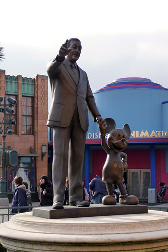 Walt and Mickey, Partners