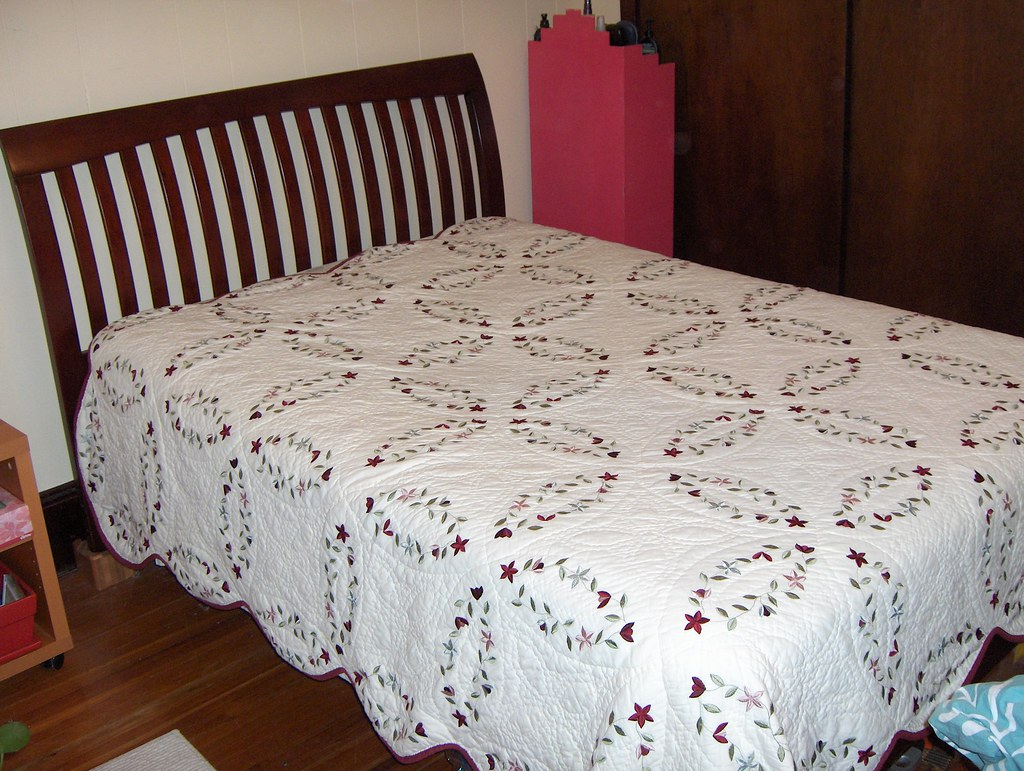 SOLD - $200 obo Full-sized bed (frame and mattress)