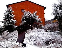 Winter is back2 (Per Ola Wiberg ~ powi is back) Tags: winter mars march 2009 otw ekerö diamondclassphotographer funfanphotos nokia6500s1 ekuddsvägen