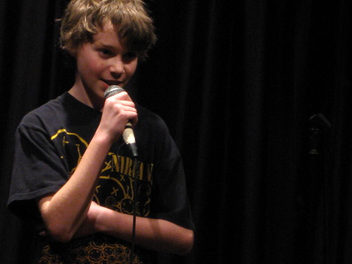 Lou Engleman @ Second City Training Center Teen Stand-up Student Show April 2, 2009