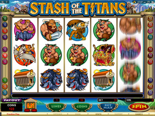 Stash of the Titans slot game online review