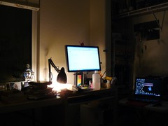 My office at night (ashabot) Tags: office