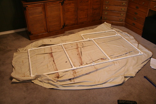 The PVC frame
