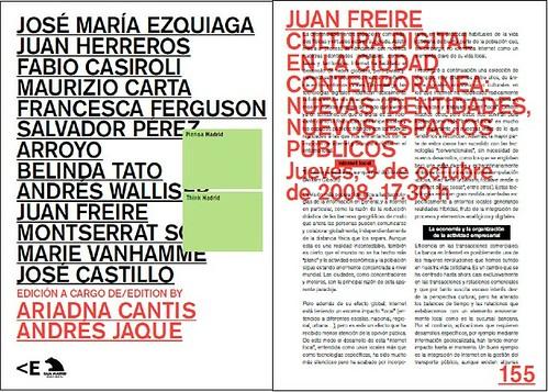 Piensa Madrid, capítulo Cultura digital en la ciudad contemporánea