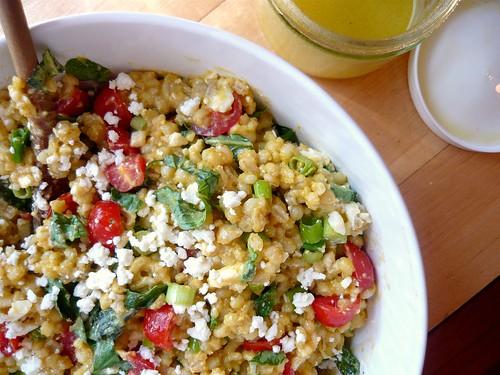 Tomato, Feta, & Barley Salad