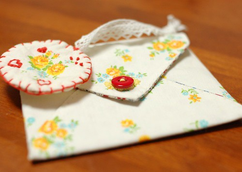 Love letter pouch