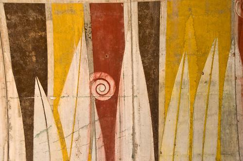 Wall at Arcosanti