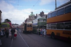 rsm 1988 04 13 Fleetwood Box 40 Tram (robsue888) Tags: 1988 tram 80s 1980s tramway fleetwood dateapproximate bf40 blackpool114