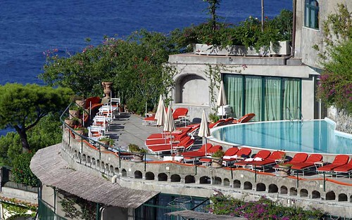 Hotel Il San Pietro, Positano, Italy, Swimming Pool por Ithip.com Hotel Collection.