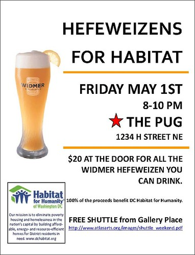 Habitat Pug Event