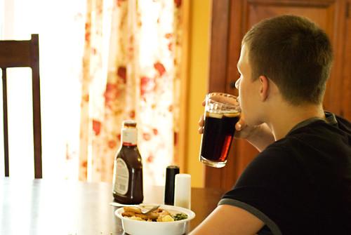 ben drinking