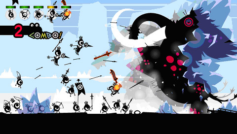 Patapon 2 Combo screenshot
