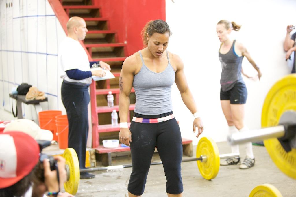 Bodybuilder sarah de herdt speaking
