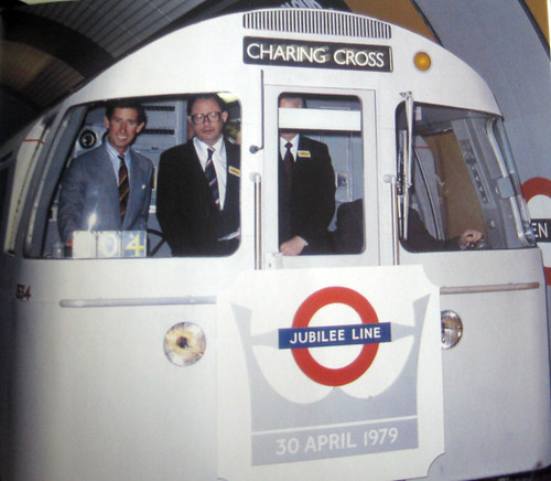 Prince Charles opening the Jubilee Line from One Stop Short of Barking