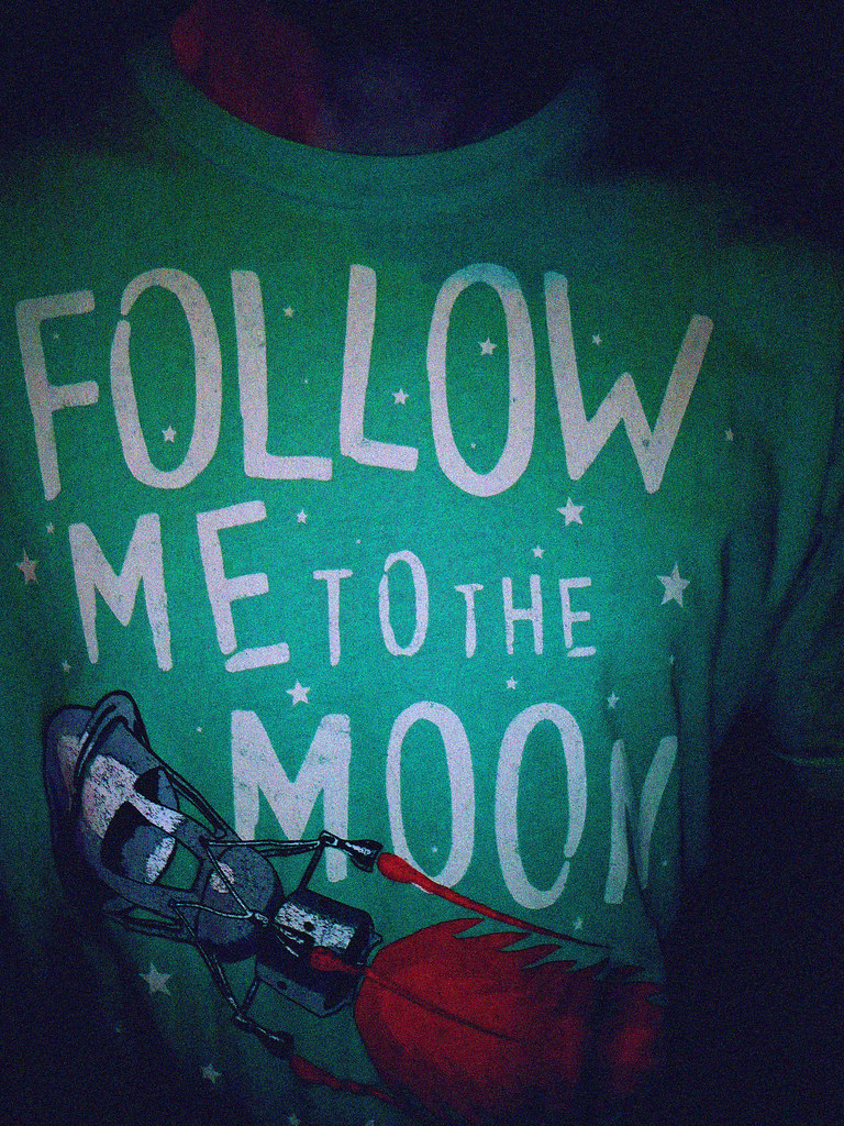 Follow me to the moon