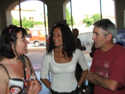 Barbara Franca Marco all'Expo' della maratona di pisa
