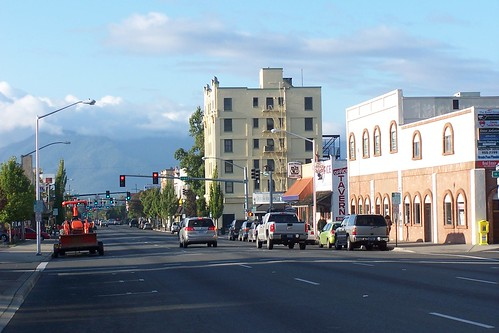 Beautiful Downtown Grants Pass, Oregon