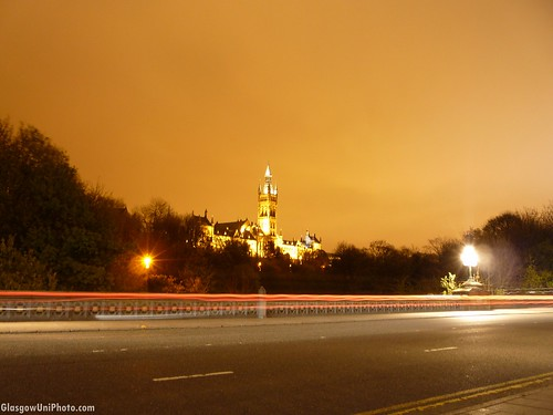 From Partick Bridge at Night