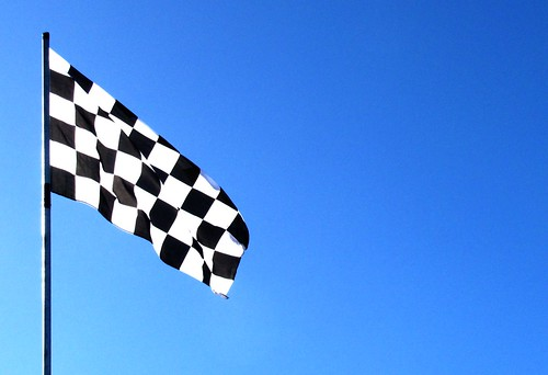 chequered flag by tharrin, on Flickr