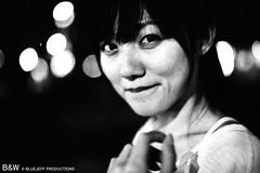 Nightshots (BlueJeff) Tags: people blackandwhite bw woman baby cute girl beauty portraits asian pretty films taiwan babe taipei nina 台灣 台北 寶貝 可愛 美女 人像外拍 正妹 女生 黑白底片 canoneos300slrcamera fujifilmneopanasa1600professtional