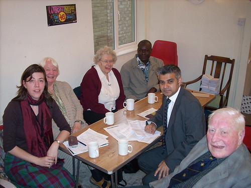 Meeting with the Wandsworth Refugee Network
