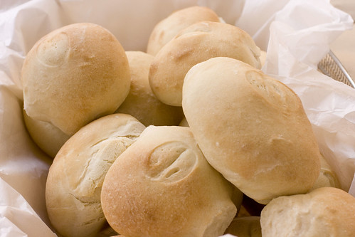soft and chewy rolls