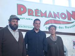 Vincent Gauthier et ses parents