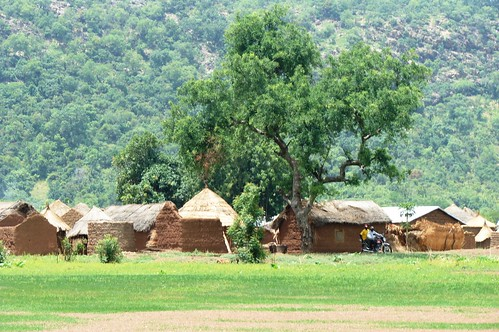 The village just outside Pendjari