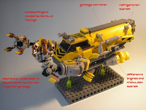 FLYEX n3 Lego MOC