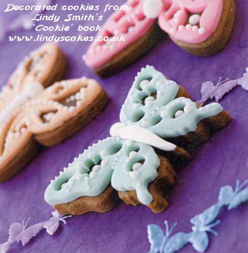 Lindy's Cookie Book - Winged Beauties
