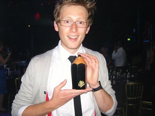 Matt Dent, black pencil winner