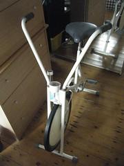 Exercise bike 1 (pauls) Tags: freecycle
