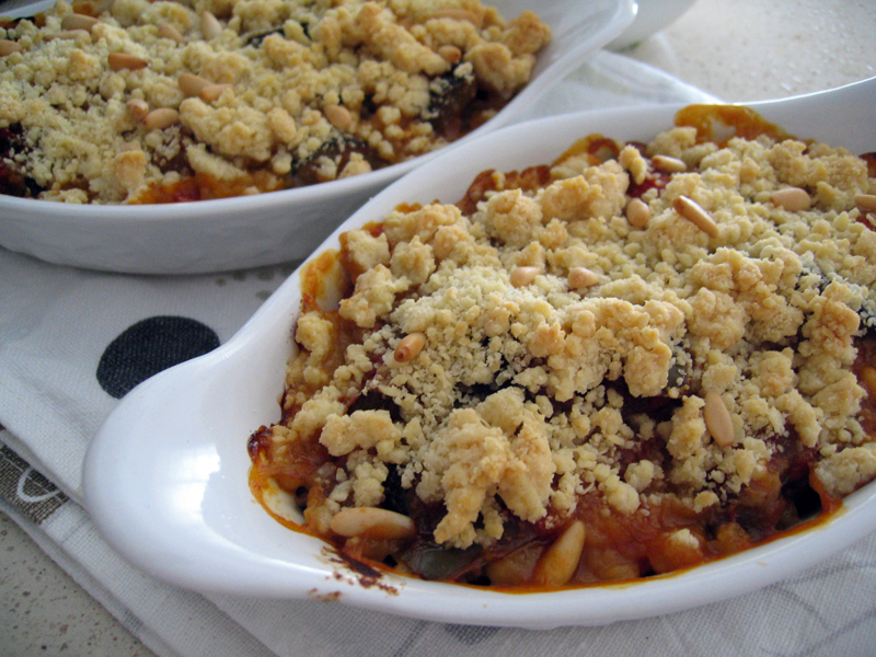 Crumble à la Ratatouille
