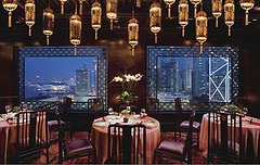 Restaurant, Mandarin Oriental Hong Kong (Travel Intelligence) Tags: hongkong mandarinoriental