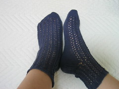 Lacy Ribs Socks(20090616:finished)