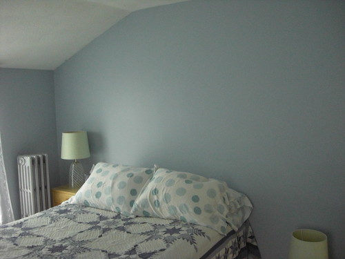 Finished Guest Bedroom Paint Job