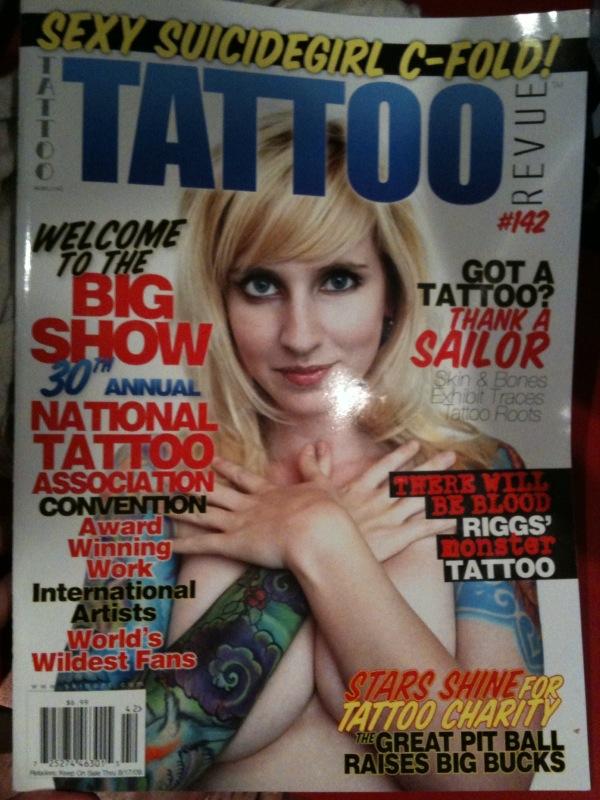 Tattoo revue xoxo. iphone. rigelbot