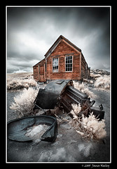 Yard Sale (James Neeley) Tags: california ir bravo infrared bodie jamesneeley convertedir convertedinfraredcamera