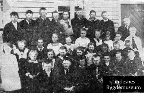 Åvik skole 1920-21