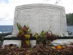 Laupahoehoe memorial