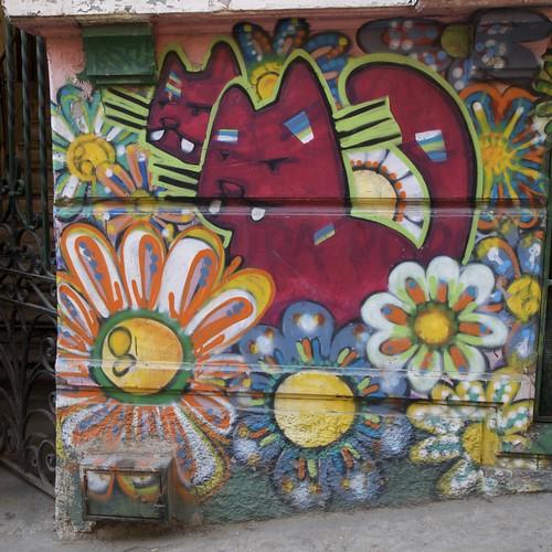 Gato (Graffiti Valparaíso)