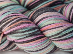 World of Illusion on 3-ply Merino -3.5 oz (...a time to dye)