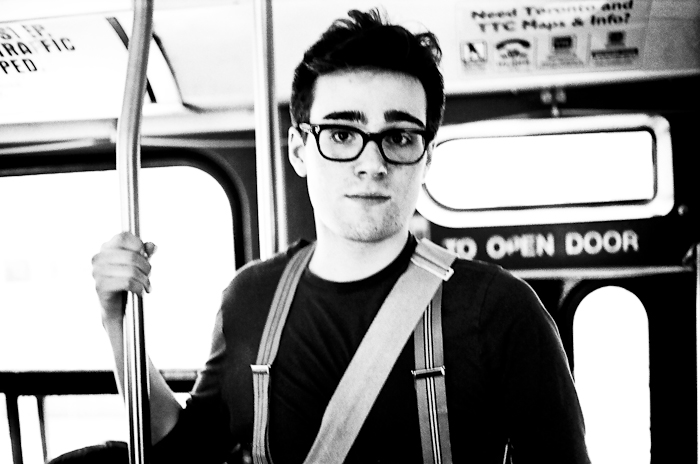 Portrait: Street Car Series @ Queen St. E., Toronto