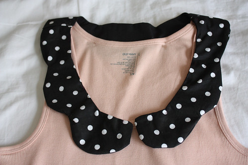 How To Peter Pan Collar Tank Top
