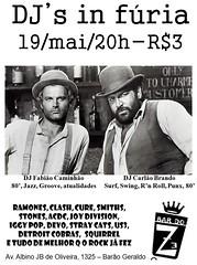 19 MAI 2010 - DJs em Fria (Bar do Z) Tags: bar poster do cartaz maio ze 2010 bdz bardoze