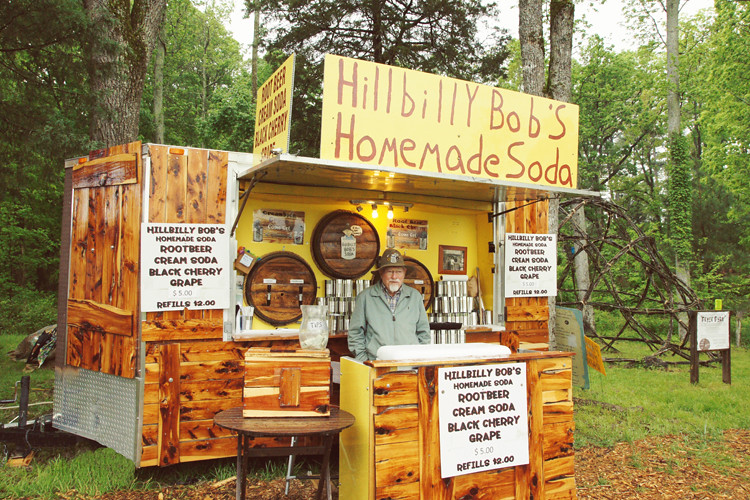 Hillbilly Bob's Homemade Soda @ Shakori Hills