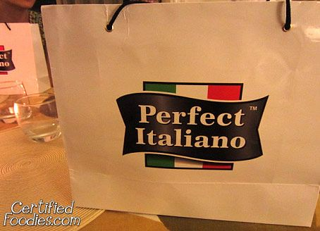 Thanks, Perfect Italiano and Pinoy Eats World! - CertifiedFoodies.com