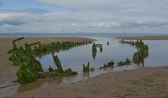 Shipwreck (Sandy Beach Cat) Tags: uk scotland lothian eastlothian aberlady pentaxk10d