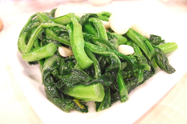 Stir Fried Choi Sum with Garlic