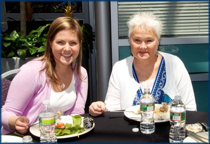 Me and my fellow Clara Barton Camp alumni, Jane.  YOU ROCK, JANE!!!